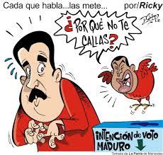NICOLÁS MADURO, ANORMAL.